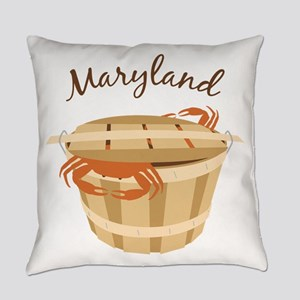 Maryland Crab ! Everyday Pillow